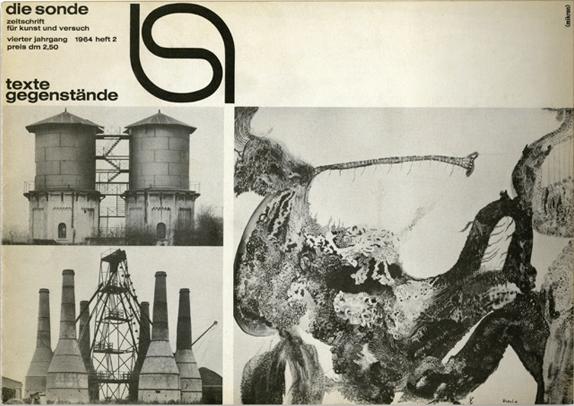 die sonde, Zeitschrift für Kunst und Versuch, Heft 2, 1964.