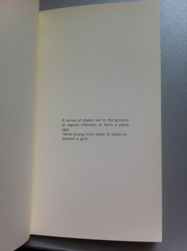 Lawrence Weiner - General statement (Nr. 12)