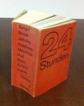 Künstlerbuch 24 Stunden (Foto: Marlene Obermayer)
