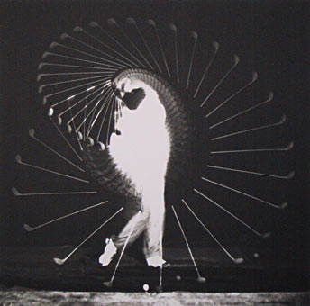 Harold E. Edgerton, Golfspieler, 1935, Leihgabe von ART Photography FUND, © Massachusetts Institute of Technology, USA