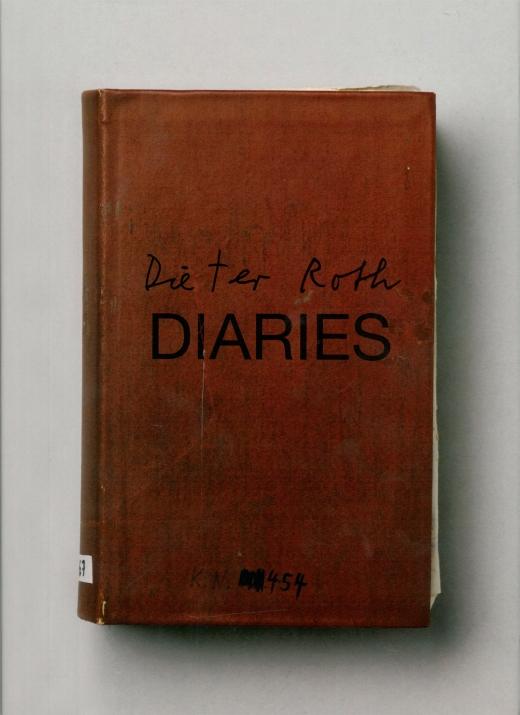 Dieter Roth, Diaries, 2012