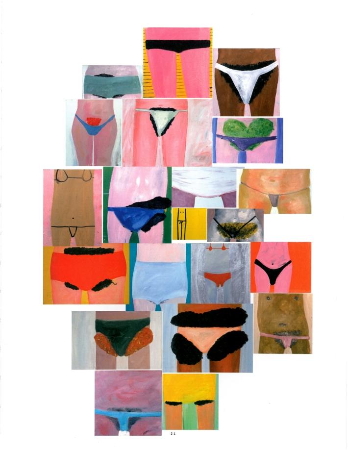 Ronald Kodritsch: Urlaub vom Hirn, Bikinimädchen