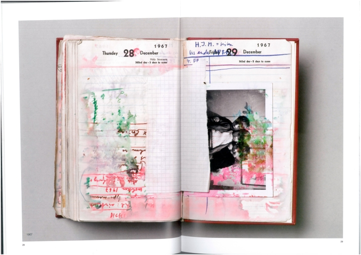 Dieter Roth, Tagebuch 1967 (Katalog Seite 28-29)