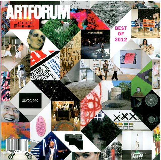 Artforum, December 2012