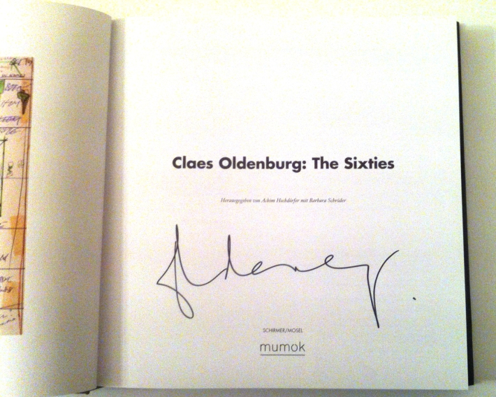 Katalog: Claes Oldenburg. The Sixties, 2012