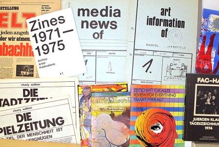 Ausstllung: Zines #1: 1971-1975
