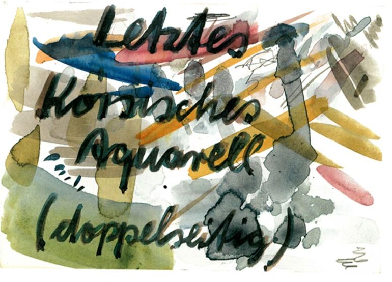 04. September 1987: Reinhard Mucha. Fünfzig Postkarten, 1997 (Foto; Marlene Obermayer)