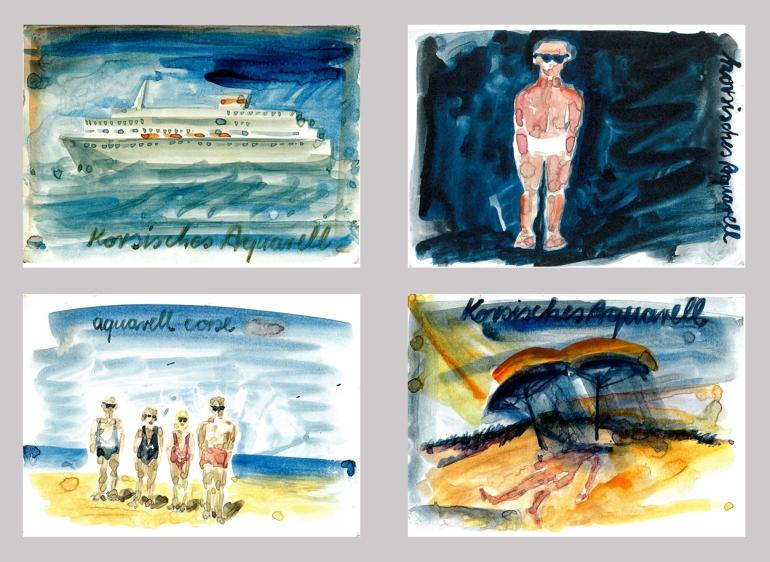 01. - 15. August 1987: Reinhard Mucha. Fünfzig Postkarten, 1997 (Foto; Marlene Obermayer)