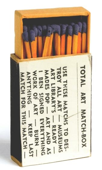 Ben Vautier: Total Art Match-Box, 1966.