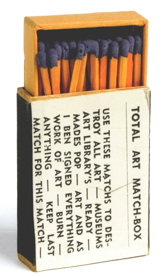 Ben Vautier: Total Art Match-Box, 1966.