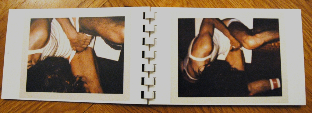 Book #129, 1972, Polacolor Type 108. Neke Carson (Foto: Marlene Obermayer)