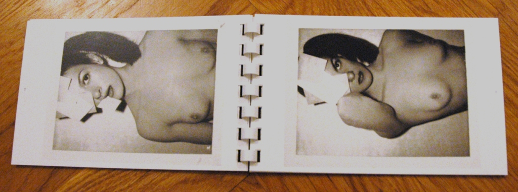 Book #227, 1973, Polaroid Type 107, black and white. Paloma Picasso (Foto: Marlene Obermayer)