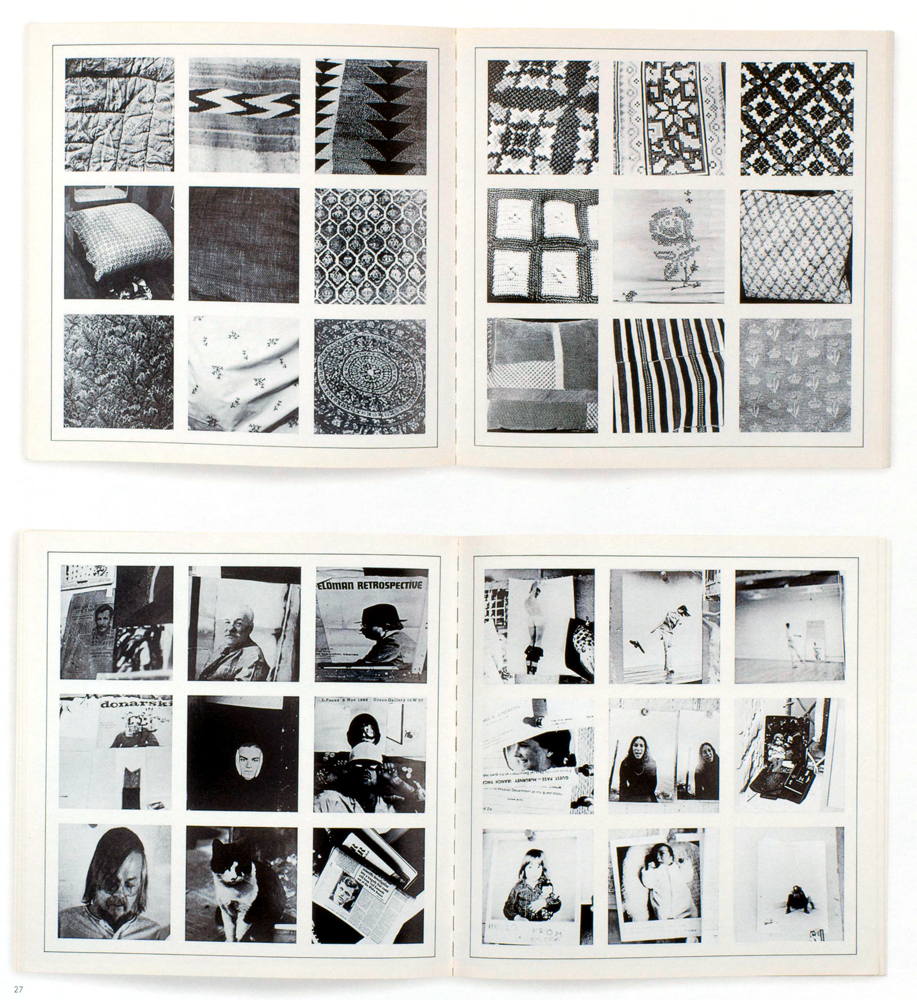 Artists' book: Sol LeWitt, Autobiography. New York: Multiples, Inc., and Boston: Lois and Michael K. Torf, 1980. 10 5/16 x 10 5716 inches (26.2 x 26.2 cm), 128 pp.