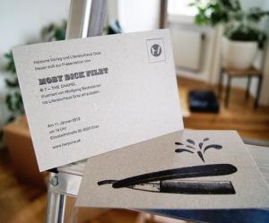 Einladung Harpune Verlag