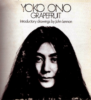Künstlerbuch | Artists' book: Yoko Ono, Grapefruit. A book of instructions by Yoko Ono, 1970