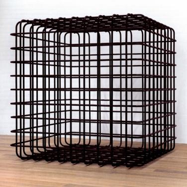 Mona Hatoum, Cube, 2006 174 x 174 x 174 cm, Stahl