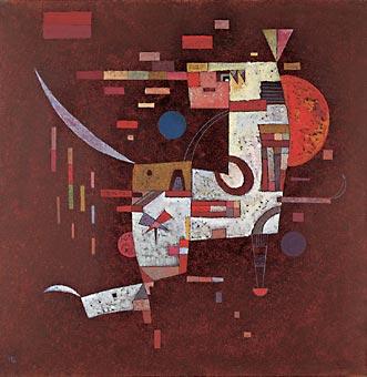 Wassily Kandinsky, Trotzig, 1933, mumok museum moderner kunst stiftung ludwig wien, Leihgabe der Österreichischen Ludwig Stiftung, Foto: mumok, © VBK Wien 2013