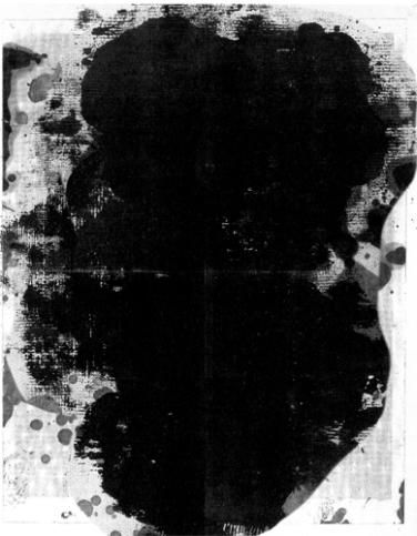 Christopher Wool, Untitled, 2011 304,8 x 234,84 cm, Siebdruck auf Leinwand