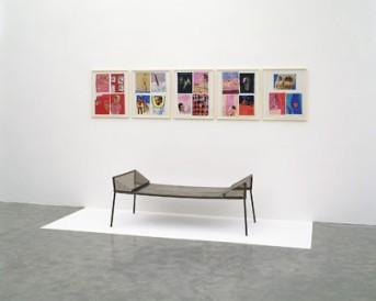 Franz West, Träumerei – Dreamy, 1997, Installation, Foto: Generali Foundation, Wien / Werner Kaligafsky Generali Foundation, Wien, © Franz West