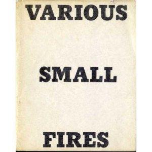 Künstlerbuch | Ed Ruscha. Various Small Fires, 1964
