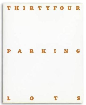 1967 3_Thirtyfour Parking Lots in LA