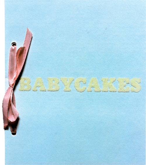 Künstlerbuch | Artists' book: Ed Ruscha. Babycakes (with weights), 1970