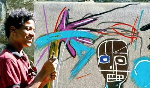 "Film still from ""Basquiat, The Radiant Child"""