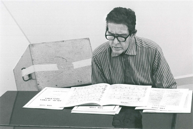 John Cage, Fondation Maeght, 1970