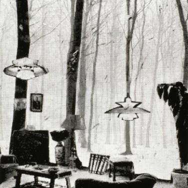 Arthur Köpcke, Glashaus (innen), Glashaus (außen) 1971/72 (Quelle: Edition Block)