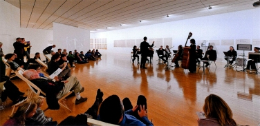 Concert Ensemble Op Cit direction Guillaume Bourgogne, 29.Sept 2012 at MAC Lyon