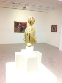 Constantin Brancusi, La Négresse blonde II, 1933 Bronzeguß, 75cm x 37cm x 37cm