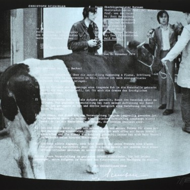 Wolf Vostell, TV-Ochsen 2, 1971 (Quelle: Edition Block)