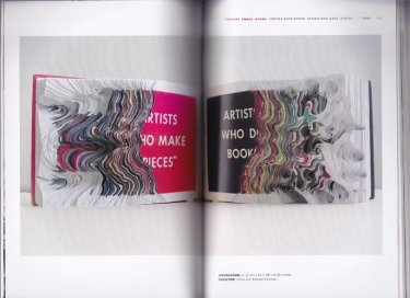 "Noriko Ambe | Cutting Book Series: Travelling into Then & Now. Artists Who Make ""Pieces"" and Artists Who Do Books, 2008."