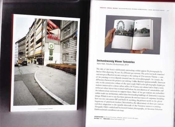 Stefan Olah and Sebastian Hackenschmidt | Sechsundzwanzig Wiener Tankstellen, 2010. Ed. of 800.