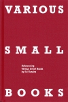 Homage to the artists' books of Ed Ruscha | Various Small Books (MIT Press, 2013)