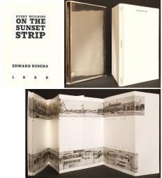 Künstlerbuch   Artists' book: Ed Ruscha. Every Building On The Sunset Strip, 1966