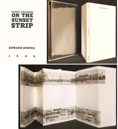 Künstlerbuch | Artists' book: Ed Ruscha. Every Building On The Sunset Strip, 1966