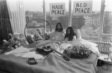 Yoko Ono und John Lennon | Bed-In for Peace, 1969