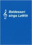 Baldessari sings LeWitt Cover