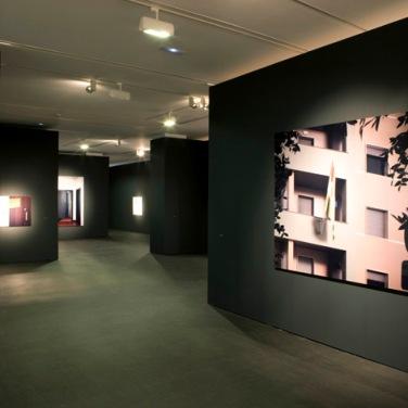 Ausstellungsansicht in der Hamburger Kunsthalle, 2008.