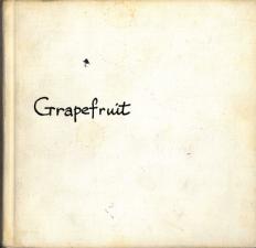 Künstlerbuch | Artists' book: Grapefruit, 1970 (2. Auflage), Simon & Schuster, New York