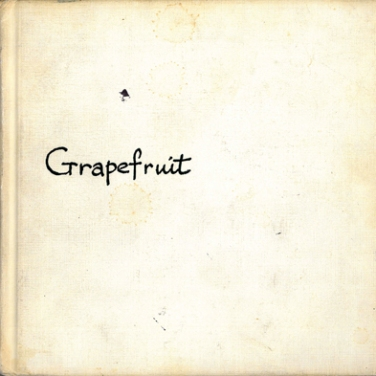 Künstlerbuch | Artists' book: Grapefruit, 1970 (2. Auflage), Simon & Schuster, New York