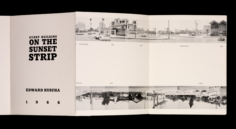 Künstlerbuch | Artists' book: Ed Ruscha. Every Building On The Sunset Strip, 1966