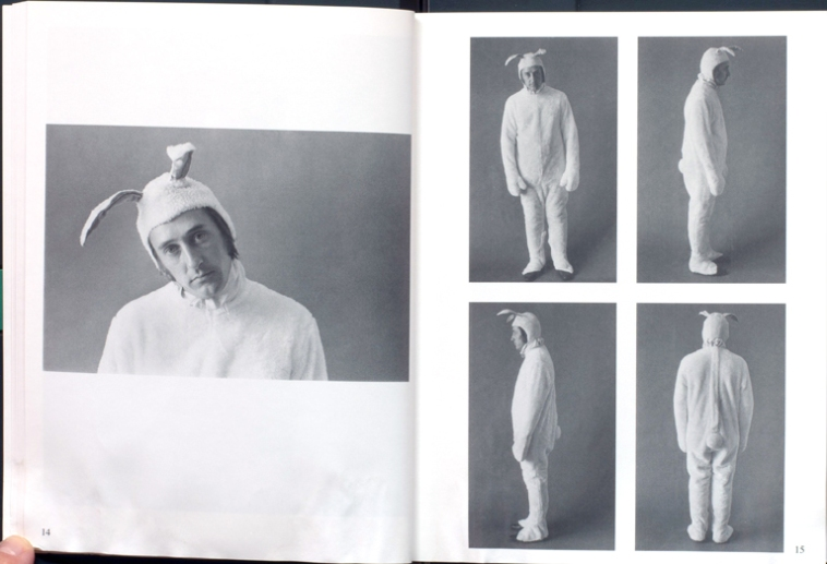 Jerry McMillan: Ed dressed as a bunny, 1970