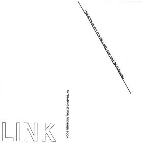 Künstlerbuch | Artists' book: Peter Downsbrough. Link, 2013