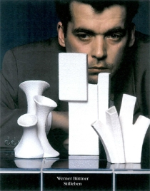 F.C. Grundlach, Werner Büttner, 1989, Fotografie