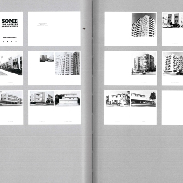 Künstlerbuch | Artists' book: Ed Ruscha. Some Los Angeles Apartments, 1965