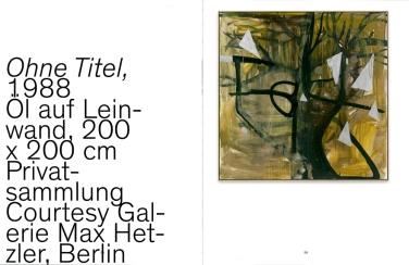 Künstlerbuch   Albert Oehlen. Malerei, 2013 (Gestaltungskonzept: Heimo Zobernig)