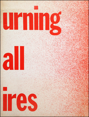 Bruce Nauman | Burning Small Fires, 1968