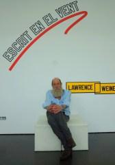 Lawrence Weiner. Photo: Martijn van Nieuwenhuyzen, 2013